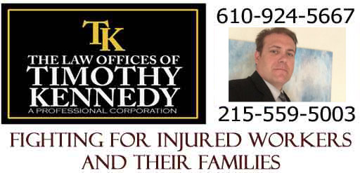 Lawyer to Fight for Injured Workers 610 924 5667